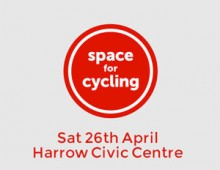 Harrow Space for Cycling event – Saturday 26 April